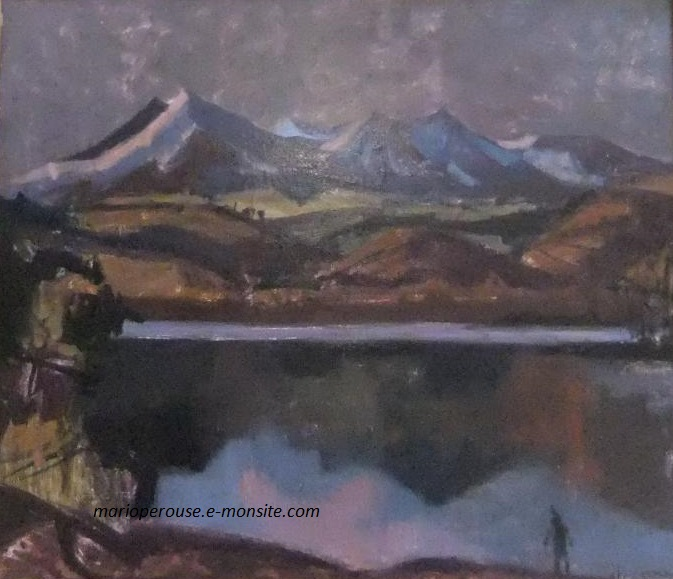 Aujame lac chambon