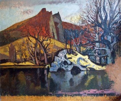 Jean Aujame Lac Chambon