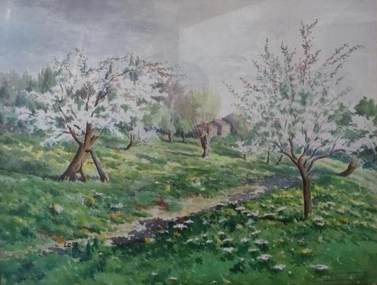 Joseph Blanc 80x66 aquarelle
