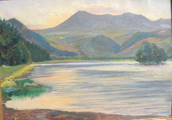 Jean Camus Le lac Chambon