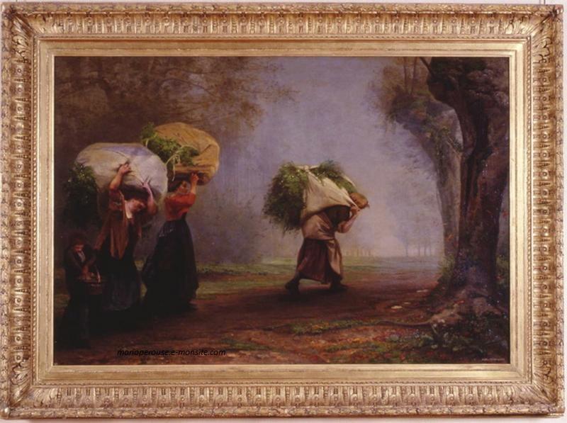 Desbrosses 108x157 salon 1861 musee vendome porteuses dherbe