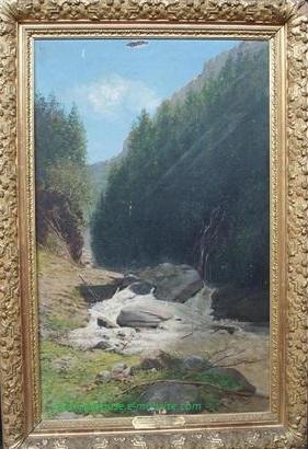 Desbrosses Cascade de la Fraiche Pralognan