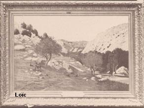 Desbrosses 1881 Les gorges du Chaix