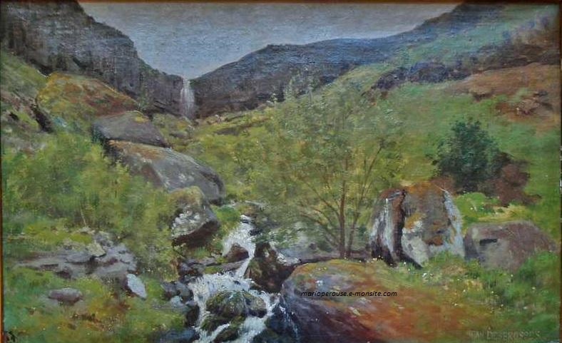 Desbrosses 27x41 cascade mont dore