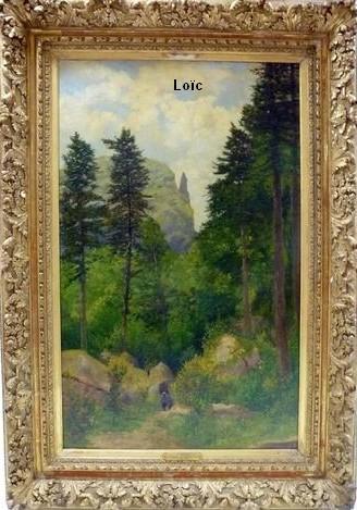 Jean Desbrosses la forêt du Capucin