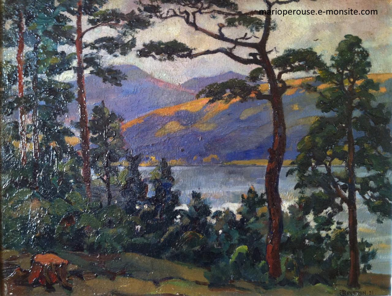 Roger Deverin Lac Chambon