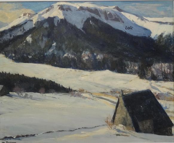 Jaffeux 60x74 vallee mont dore hsc