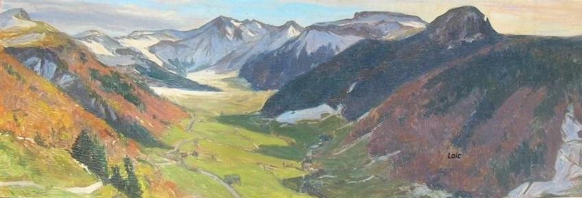 Jaffeux vallee du mont dore
