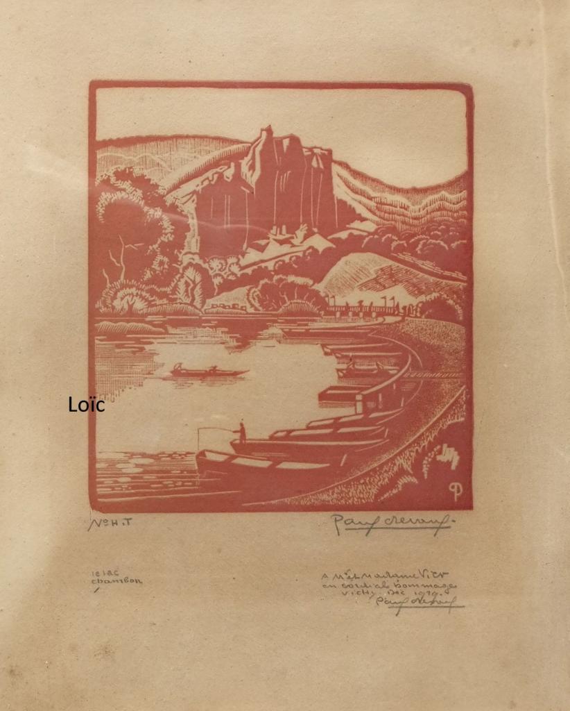 Paul Devaux lac Chambon