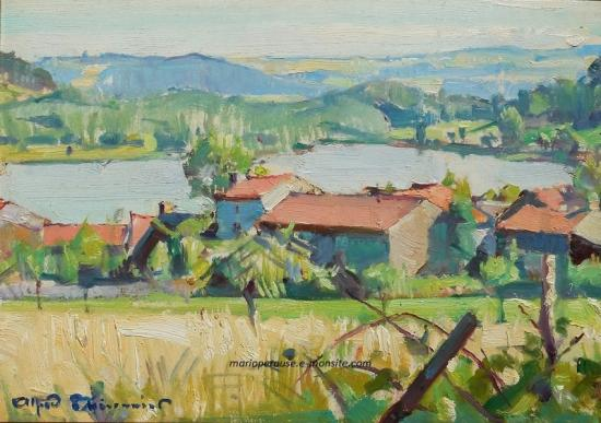 Thesonnier Alfred - Le Lac Chambon