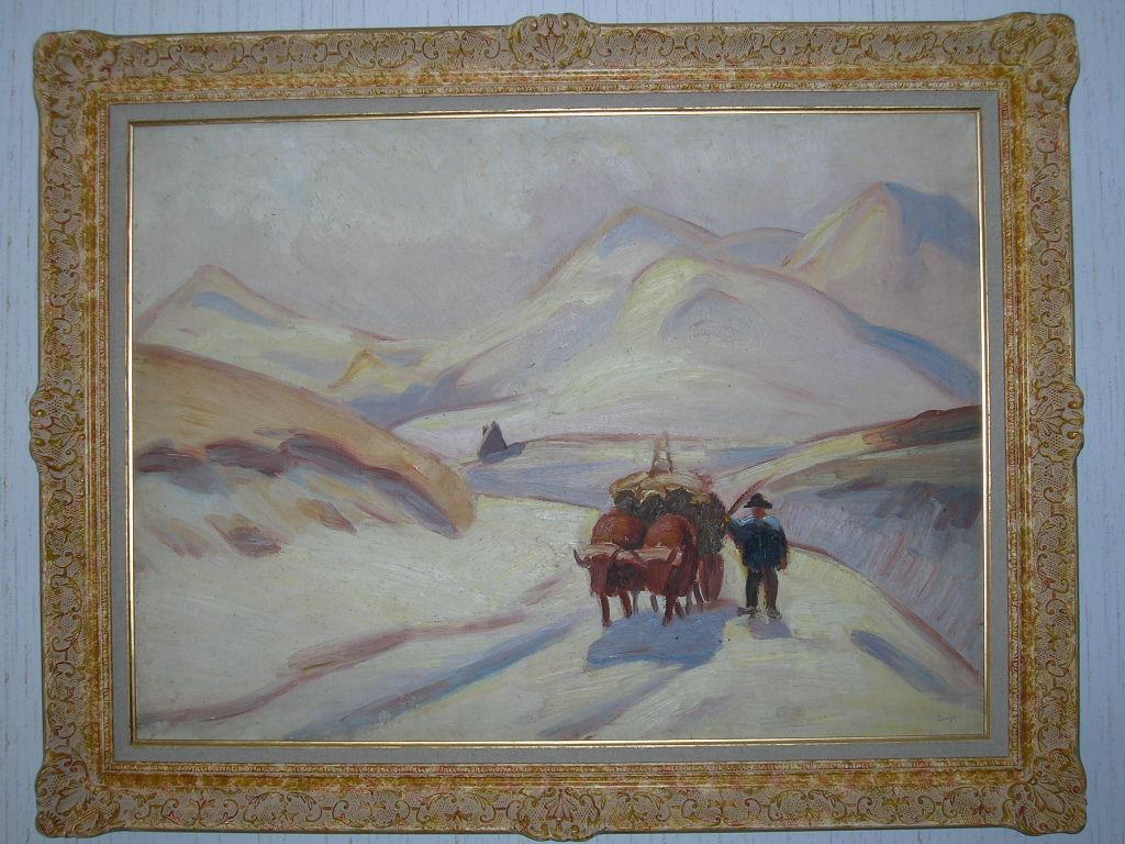 Jules Emile ZINGG - les Monts Dore