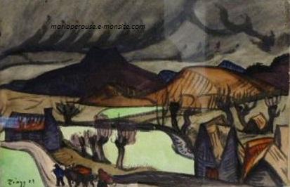 Zingg hameau pres de murol 31x48 1921