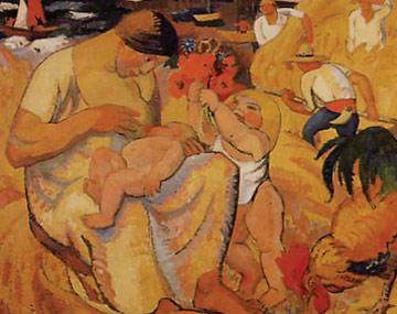Zingg maternité 1918 81x100cm
